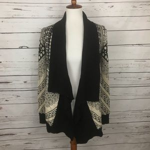 Anthropologie Open Cardigan Size Small